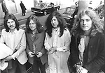 Led Zeppelin 1970 John Bonhab, John Paul Jones, Jimmy Page and Robert Plant........