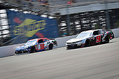 #18: Jeffrey Earnhardt, Joe Gibbs Racing, Toyota Supra iK9, #9: Noah Gragson, JR Motorsports, Chevrolet Camaro Switch