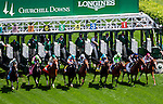 May 3, 2014: The field leaves the gate at the start of the Churchill Distaff Turf Mile S. (Grade II) stakes on Kentucky Derby Day at Churchill Downs in Louisville, KY. Jon Durr/ESW/CSM