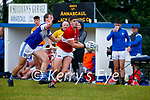Donagh Buckley Kerins O'Rahillys in action against Conor Geaney, Dingle, In the Division League final at Annascaul on Sunday.