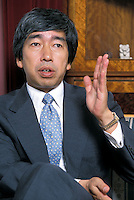 "Japanese Prince Takamado dies at age 47. The prince collapsed while playing squash at the Candadian Embassy, Tokyo. He died on Nov. 21, who is a cousin of Emeror Akihito and the seventh in line to the Chrysanthemum Throne. He was interviewed at his palace on Oct. 15 when he published a book of ""My real face""<br /> 15-OCT-02"