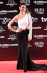 Actress Cristina Brondo attends Goya Cinema Awards 2014 red carpet at Centro de Congresos Principe Felipe on February 9, 2014 in Madrid, Spain. (ALTERPHOTOS/Victor Blanco)