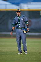 Saint Leo Lions right fielder Alex Mata (23) during a game against the Northwestern Wildcats on March 4, 2016 at North Charlotte Regional Park in Port Charlotte, Florida.  Saint Leo defeated Northwestern 5-3.  (Mike Janes/Four Seam Images)