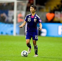 Aya Sameshima.  Japan won the FIFA Women's World Cup on penalty kicks after tying the United States, 2-2, in extra time at FIFA Women's World Cup Stadium in Frankfurt Germany.