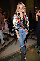 Tallia Storm<br /> at the Pam Hogg catwalk show as part of London Fashion Week SS17, Freemason's Hall, Covent Garden, London<br /> <br /> <br /> ©Ash Knotek  D3155  16/09/2016