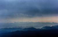 Storms in the North Carolina mountains.