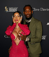BEVERLY HILLS, CALIFORNIA - JANUARY 25: Cardi B and Offset attend the Pre-GRAMMY Gala and GRAMMY Salute to Industry Icons at The Beverly Hilton Hotel on January 25, 2020 in Beverly Hills, California. Photo: CraSH/imageSPACE/MediaPunch