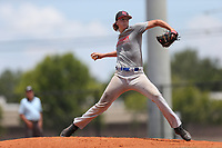 Kendall Williams (67) of IMG Academy in Olive Branch, Mississippi during the Under Armour Baseball Factory National Showcase, Florida, presented by Baseball Factory on June 12, 2018 the Joe DiMaggio Sports Complex in Clearwater, Florida.  (Nathan Ray/Four Seam Images)