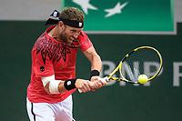 4th July 2021; Roland Garros, Paris France; French Open tennis championships day 6;  Michael Venus ( NZL )
