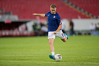 , MEXICO - : Djordje Mihailovic #8 of the United States warming up during a game between  and undefined at  on ,  in , Mexico.