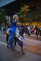 Seafair Torchlight Parade 2015, Seattle, Washington State, WA, America, USA.