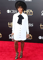 HOLLYWOOD, LOS ANGELES, CA, USA - NOVEMBER 14: Janelle Monae arrives at the 18th Annual Hollywood Film Awards held at the Hollywood Palladium on November 14, 2014 in Hollywood, Los Angeles, California, United States. (Photo by Xavier Collin/Celebrity Monitor)