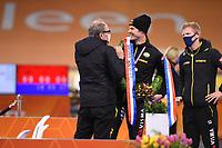 SCHAATSEN: HEERENVEEN: 29-11-2020, IJsstadion Thialf, Daikin NK Sprint, Hein Otterspeer en Jac Orie, ©foto Martin de Jong