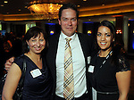 From left: Gerd Anita Sporland, Jon Are Rortveit and Connie Meling at the World Energy Cities Partnership reception at the Hotel ZaZa Tuesday May 1,2012. (Dave Rossman Photo)