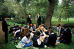 ST EDMUND HALL FRESHERS PICNIC BY RIVER CHERWELL, OXFORD, 1995