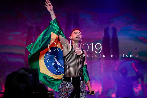 SAO PAULO, SP 07.04.2019: LOLLAPALOOZA-SP - Show com Years & Years. Lollapalooza Brasil 2019, que acontece de 05 a 07 de abril no Autodromo de Interlagos, zona sul da capital paulista. (Foto: Ale Frata/Codigo19)