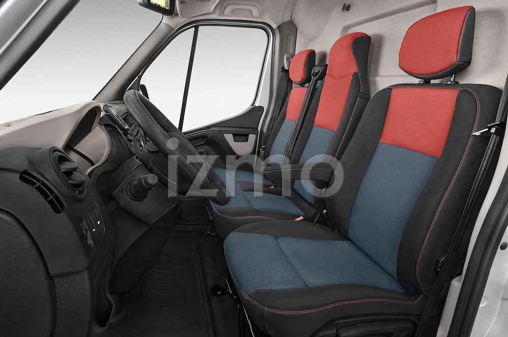 Front seat view of a 2015 Renault MASTER GRAND CONFORT 4 Door Cargo Van Front Seat car photos