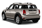 Car pictures of rear three quarter view of 2020 MINI Countryman Cooper-Signature 5 Door Hatchback Angular Rear