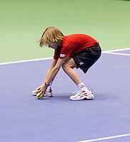 19-12-10, Tennis, Rotterdam, Reaal Tennis Masters 2010,   Ballenjongen