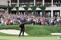 6th June 2021; Dublin, Ohio, USA;  Patrick Cantlay (USA) reacts to his putt on 18 during the final round of the Memorial Tournament at Muirfield Village Golf Club in Dublin, Ohio