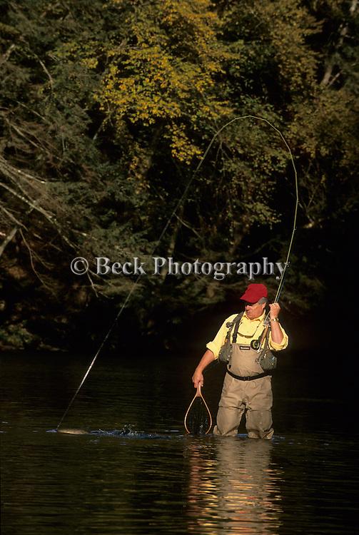 Fall fly fishing on Fishing Creek