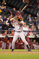 September 24, 2008: Los Angeles Angels of Anaheim's Vladimir Guerrero at-bat during a game against the Seattle Mariners at Safeco Field in Seattle, Washington.