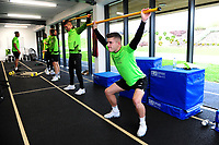 Declan John of Swansea City in the gym during the Swansea City Training at The Fairwood Training Ground in Swansea, Wales, UK. Wednesday 30 October  2019