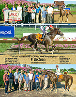 F Sixteen winning The 23 Running of The Delaware Park Arabian Derby