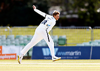 Yorkshire's Joe Root bowls during Kent CCC vs Yorkshire CCC, LV Insurance County Championship Group 3 Cricket at The Spitfire Ground on 18th April 2021