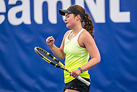 Amstelveen, Netherlands, 14  December, 2020, National Tennis Center, NTC, NK Indoor, National  Indoor Tennis Championships, Qualifying:  Ana Jocelijn Cavero Roeper (NED)<br /> Photo: Henk Koster/tennisimages.com