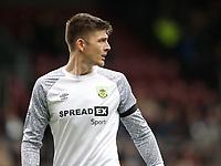 2nd October 2021;  Turf Moor, Burnley, Lancashire, England; Premier League football, Burnley versus Norwich City: Burnley goalkeeper Nick Pope