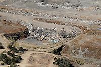 aerial of landfill
