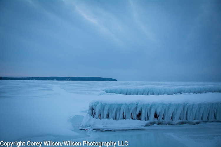 Gill's Rock, Wis., on February 6, 2016.