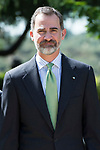 King Felipe VI of Spain during the meeting with President of Costa Rica Republic, Luis Guillermo Solis Rivera at Zarzuela Palace in Madrid, May 08, 2017. Spain.<br /> (ALTERPHOTOS/BorjaB.Hojas)