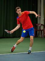 March 15, 2015, Netherlands, Rotterdam, TC Victoria, NOJK, Miakel Borg (NED)<br /> Photo: Tennisimages/Henk Koster