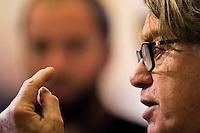 French deputy Gilbert Collard attends at the National Assembly in Paris, France, December 13, 2016. # BERNARD CAZENEUVE PRONONCE SON DISCOURS DE POLITIQUE GENERALE