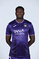 30th July 2020, Turbize, Belgium; Derrick Luckassen defender of Anderlecht pictured during the team photo shoot of Rsc Anderlecht prior the new Jupiler Pro League season, on 30/07/2020, in Tubize, Belgium.