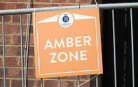 Press and Media in the Amber zone at Radlett during Middlesex CCC vs Hampshire CCC, Bob Willis Trophy Cricket at Radlett Cricket Club on 11th August 2020
