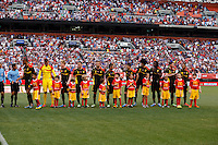 U.S. Men's National Team vs. Belgium  - International friendly soccer game at First Energy Stadium in Cleveland, Wednesday, May 29, 2013.