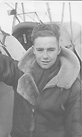 BNPS.co.uk (01202) 558833<br /> Pic: MarlowsAuctioneers/BNPS<br /> <br /> Pictured: Flight Lieutenant Maxwell Sparks.<br /> <br /> The medals of a hero of the legendary Operation Jericho raid who dive-bombed a Gestapo prison at just 10ft have sold for over £15,000.<br /> <br /> Flight Lieutenant Maxwell Sparks pulled off the daring manoeuvre during the daylight attack on the heavily-defended Amiens Prison in northern France in February 1944.<br /> <br /> Positioned third in the attack's first wave, he bombarded the German guards' quarters at 'tree-top height' then ascended just in time to miss the prison's roof.