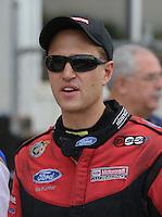 May 11, 2013; Commerce, GA, USA: NHRA funny car driver Bob Tasca III during the Southern Nationals at Atlanta Dragway. Mandatory Credit: Mark J. Rebilas-