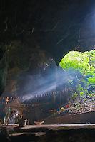 Cambodia Killing caves at Phnom Sampeau a Khmer Rouge,execution, site, near Battambang, Cambodia