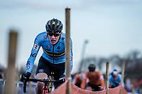 Toon Aerts (BEL) <br /> <br /> Men's Elite race <br /> <br /> UCI 2019 Cyclocross World Championships<br /> Bogense / Denmark<br /> <br /> <br /> ©kramon