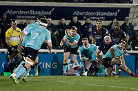 Nottingham Rugby action during the Greene King IPA Championship match between London Scottish Football Club and Nottingham Rugby at Richmond Athletic Ground, Richmond, United Kingdom on 7 February 2020. Photo by Carlton Myrie.