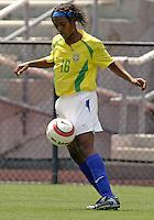 Elaine.US Women's National Team vs Brazil at Legion Field in Birmingham, Alabama.