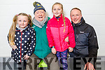 Mia, Danny, Taylor Kate and Danny Leen Jnr from Tralee enjoying the fun and activities at the Kerry Sports Academy Open Day at the I T Tralee on Saturday.