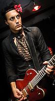 Tav Falco playing at Siberia in New Orleans, LA.