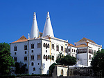 Portugal, Sintra: Koenigspalast - Palácio Real | Portugal, Sintra: Royal Palace - Palácio Real