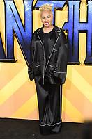 "Emilie Sande<br /> arriving for the ""Black Panther"" premiere at the Hammersmith Apollo, London<br /> <br /> <br /> ©Ash Knotek  D3376  08/02/2018"