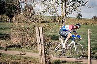 Mathieu Van der Poel (NED/Alpecin-Fenix)<br /> <br /> 82nd Gent-Wevelgem in Flanders Fields 2020 (1.UWT)<br /> 1 day race from Ieper to Wevelgem (232km)<br /> <br /> ©kramon